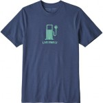 Live Simply Power Responsibili-T-Shirt - Mens