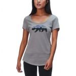 Fitz Roy Bear Organic Scoop T-Shirt - Womens