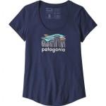 Fitz Roy Boulders Organic Scoop T-Shirt - Womens