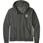 Peace Offering Patch Lightweight Full-Zip Hoodie - Mens