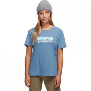 Pastel P-6 Logo Organic Crew T-Shirt - Womens