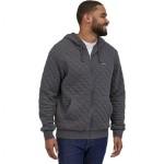 Organic Cotton Quilt Full-Zip Hoodie - Mens