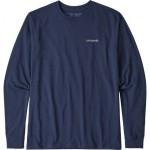 Line Logo Ridge Long-Sleeve Responsibili-T-Shirt - Mens