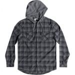 Snap Up Hooded Shirt - Mens