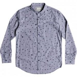 Valley Groove Print Long-Sleeve Shirt - Mens