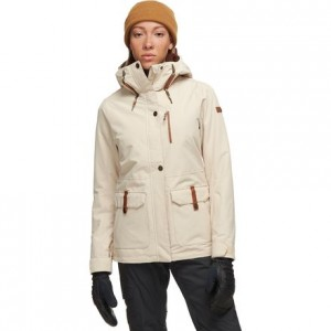 Andie Hooded Insulated Jacket - Womens