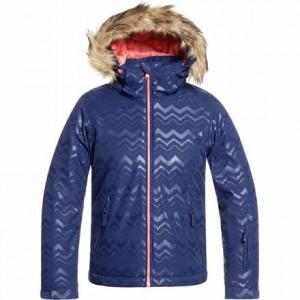 American Pie Solid Hooded Jacket - Girls