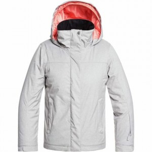 Jetty Solid Hooded Jacket - Girls