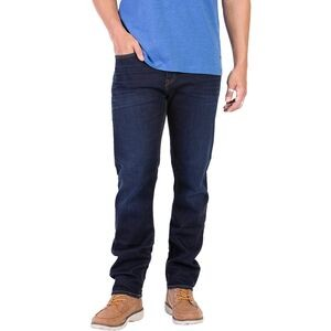 Automatic Straight Fit Stretch Jeans - Mens