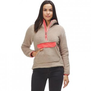 Campshire Hooded Pullover Fleece Jacket - Womens