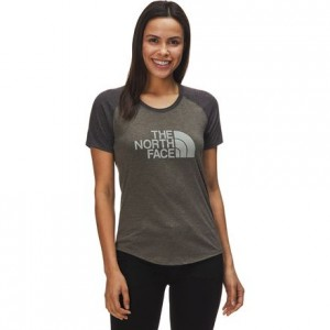 Half Dome Graphic Tri-Blend Baseball T-Shirt - Womens