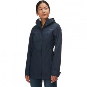 City Midi Trench Jacket - Womens