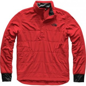 Mountain Sweatshirt 1/4 Snap Neck Jacket - Mens