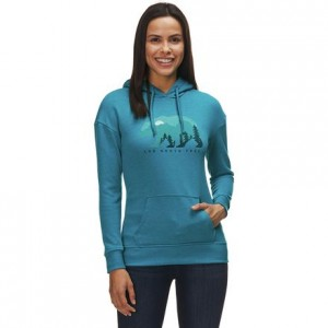 Bearscape Tri-Blend Pullover Hoodie - Womens