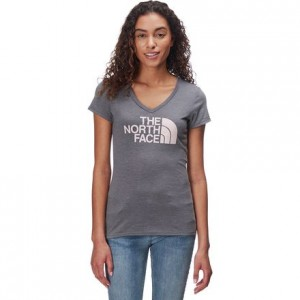 Half Dome V-Neck Tri-Blend T-Shirt - Womens