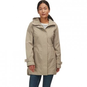 City Breeze Rain Trench Jacket - Womens