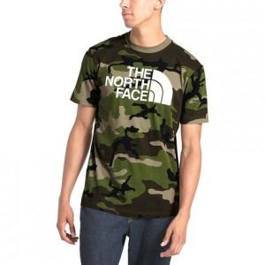 Camo Half Dome T-Shirt - Mens