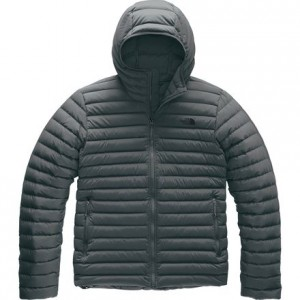 Stretch Down Hooded Jacket - Mens
