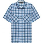Tide Chaser Plaid Short-Sleeve Shirt - Mens