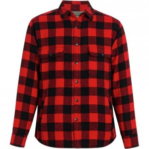 Oxbow Bend Lined Jac Long-Sleeve Shirt - Mens