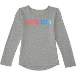 Rainbow Gradient LS T-Shirt - Toddler Girls