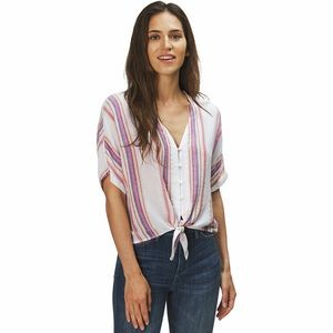 Thea Jewel Stripe Shirt - Womens