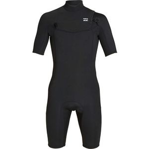 2mm Absolute GBS Chest Zip Short-Sleeve Spring Suit - Mens
