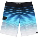 All Day Stripe Pro Board Short - Boys