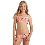 Petal Party Hanky Tie Bikini Set - Girls