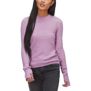 Sheer Crew Sweater - Womens