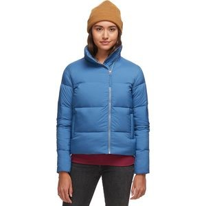 Cropped Down Puffy Jacket - Womens