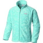 Benton Springs II Printed Fleece Jacket - Girls
