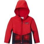 Steens Mt Overlay Hooded Fleece Jacket - Toddler Boys