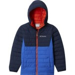 Powder Lite Hooded Insulated Jacket - Boys