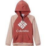 Branded French Terry Full-Zip Sweatshirt - Toddler Girls
