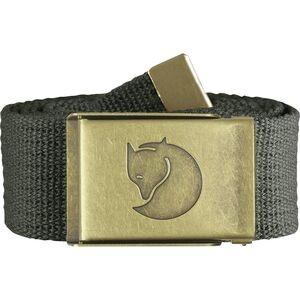 Canvas Brass Belt - Mens