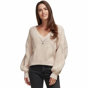 All Day Long V-Neck Sweater - Womens