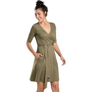 Cue Wrap Cafe Dress - Womens
