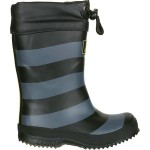 Winter Printed Fleece Lined Welly Boot - Boys