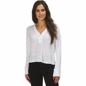 Tissue Thermal Henley Shirt - Womens