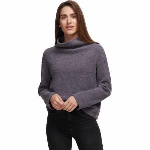 Cowl Neck Long-Sleeve Shirt - Womens
