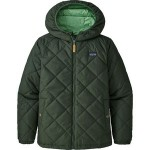 Diamond Quilt Hooded Insulated Jacket - Boys