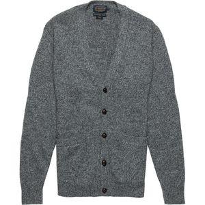 Shetland Cardigan Sweater - Mens