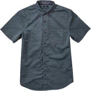Well Worn Short-Sleeve Button-Down Shirt - Mens