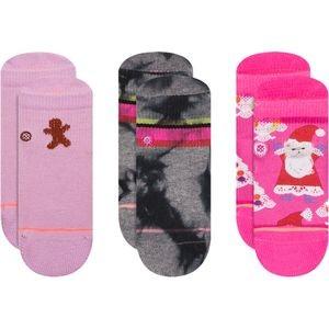 Santipaws Sock - 3 Pack - Infant Girls