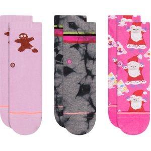 Santipaws Sock - 3 Pack - Toddler Girls