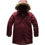 Arctic Swirl Hooded Down Jacket - Girls