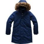 Arctic Swirl Hooded Down Jacket - Girls