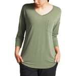 In-A-Flash 3/4-Sleeve Top - Womens