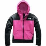 Glacier Full-Zip Hooded Fleece Jacket - Girls